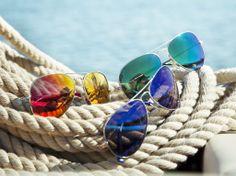 "Sunglasses #michaelkors #aviatorsunglasses MK Aviator Sunglasses.   Shades of Spring."" #StyleTip"