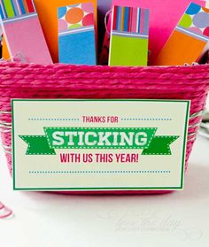 Teacher Appreciation Day 2013 | Teacher Appreciation 2013 FREE 'Sticking With Us' Printable | Love The ...
