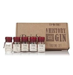 Gin Monkey A History Of Gin Tasting Set