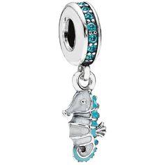 Pandora Tropical Seahorse Charm