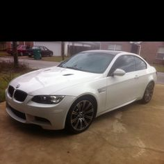 About to wash my M3... God I love this car <3
