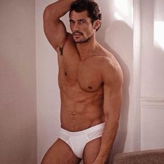 David Gandy shows off his enviable physique as he models new ...