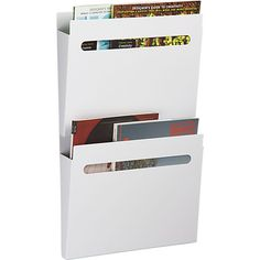 """For entry organization or in """"mini office"""" areas? file file in wall mounted storage 