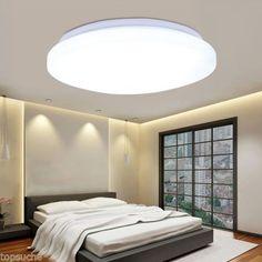 24W LED 6000 6500k Deckenleuchte Deckenlampe Bad Wohnzimmer Kche Beleuchtung EEK A