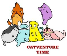 Cats and adventure time