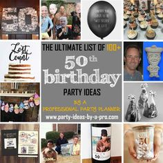 50th Birthday Party Ideas Partyplanner