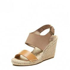 Soludos - Bi-Color Wedge  - Sandal, Wedge