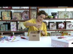Mulher.com - 26/12/2014 - Caixa co scrap decor por Marisa Magalhaes - Parte 2 - YouTube