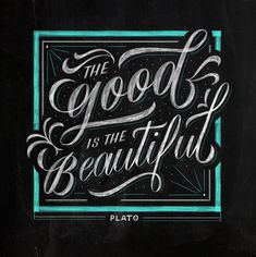 Hand Lettering II: Chalk Lettering with Your Cintiq or Tablet Learn Calligraphy, Calligraphy Letters, Typography Letters, Calligraphy Quotes, Brush Lettering, Lettering Design, Chalkboard Lettering, Chalkboard Ideas, Alphabet