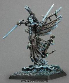 Dark Maiden Razig Solo Reaper Miniatures Warlord Undead Pirate Ghost Figurehead for sale online Reaper Miniatures, Fantasy Miniatures, Dragon Miniatures, Fantasy Paintings, Mini Paintings, Love Painting, Figure Painting, Tabletop, Minis