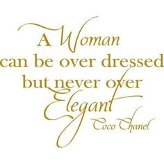 Coco Chanel Overdressed Woman-Vinyl Lettering wall words quotes graphics decals Art Home decor itswritteninvinyl