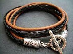 Image result for leather bracelets for men