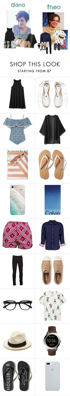 """""""Church then water park///7.23.17///The Zion's"""" by littlelotus-flower ❤ liked on Polyvore featuring Gap, Khaite, Serena & Lily, Hollister Co., Gray Malin, Calvin Klein, Tobias, Marcelo Burlon, Prada and EyeBuyDirect.com"""