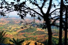 Thai-Tee,Aussicht zwischen Mae Chan und Doi Mae Salong, Thailand