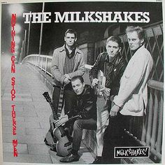 Medway band The Milkshakes on the Rochester side of the footbridge over the Medway river, Lp Vinyl, Vinyl Records, Billy Childish, Teenage Werewolf, Power Pop, Rock N Roll Music, Lp Cover, Psychobilly, Music Albums