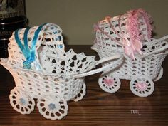 Crochet Baby Carriage/ Buggy/Stroller/Pram Applique Novelty / Perfect for Bomboniere, Baby Shower, Decoration, Beading Patterns Free, Doily Patterns, Applique Patterns, Baby Patterns, Crochet Patterns, Crochet Diagram, Crochet Motif, Crochet Designs, Crochet Lace