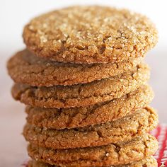 [BAKE]  Giant Ginger Cookies.