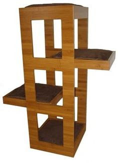 TrendyCat Cat Tower Furniture Provides Modern Contemporary Designed Cat Tree