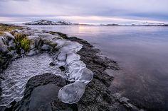 Þingvallarvatn by Halldór Ingi. The last day of 2013