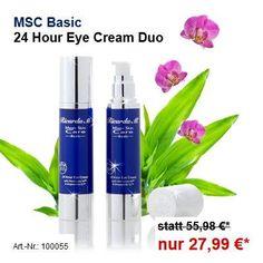 MSC Basic 24 Hour Eye Cream wieder erhältlich! Jezt im Duo für nur Euro 27,99! www.ricardam.com