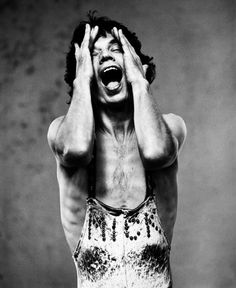 Mick Jagger by Herb Ritts