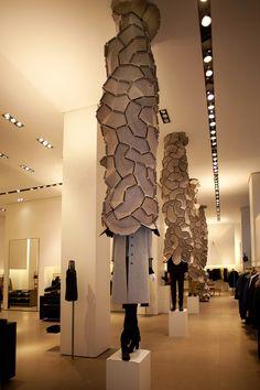 Jil Sander's cloud fabric structures
