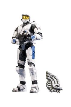 White Master Cheif! mom I love so many of these!!  McFarlane Toys Halo Anniversary Series 2 -Halo 2 Spartan Mark VI Figure $11.80