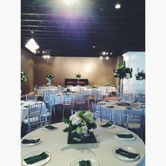 Savannah & William-Reception Set-Up!