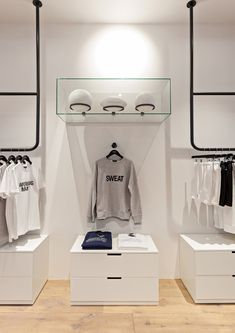 Design showcase: Ron Dorff's first UK store - Retail Design World Retail Interior Design, Retail Store Design, Retail Shop, Boutique Design, Boutique Interior, Boutiques, Vitrine Design, Retail Fixtures, Store Layout