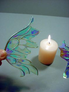 How to make fantasy film fairy wings, by Artisan Deb Wood<br> Fairy Crafts, Fun Crafts, Diy And Crafts, Arts And Crafts, Diy Fairy Wings, Diy Wings, Deco Disney, Fantasy Films, Fairy Doors