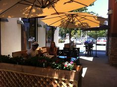 Enjoy a meal in Pho 24's new outdoor seating area!