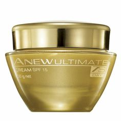 Avon Anew Ultimate  Day Cream. This nourishing Day Cream helps skin look and feel more elastic. Targets deep wrinkles, discolourations and lack of cushion.  Avon Australia New Zealand #AvonAUSNZ #skincare #makeup #cosmetics #beauty   http://avon.com.au   http://avon/co.nz http://beautyforapurpose.com.au