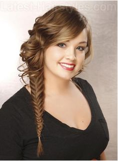 Cool Haircuts For Girls, Cute Hairstyles For School, Girl Haircuts, Side Braid Hairstyles, Braided Hairstyles, Cool Hairstyles, Latest Hairstyles, Hairdos, Hairstyle Ideas