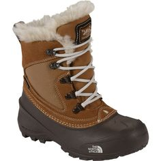 The North Face Kids' Shellista Extreme Waterproof Winter Boots, Brown Kids Duck Boots, Girls Winter Boots, North Face Kids, The North Face, Snow Boots Outfit, Brown Dachshund, Waterproof Winter Boots, Walk This Way, Faux Fur Collar