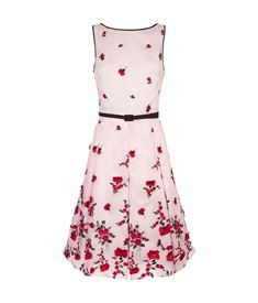 View the Rose Appliqué Dress