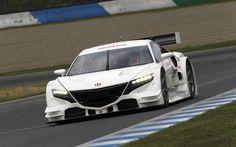 Honda Previews New NSX Super GT Race Car