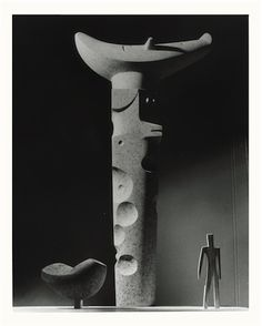 thenoguchimuseum: If only! Isamu Noguchi, mockup for (unrealized) Composition for Arrivals Building, Idlewild Airport (now John F. Kennedy Airport, New York, NY), 1956- 58, plaster, faux granite over plaster Unknown photographerThe Noguchi Museum Archive