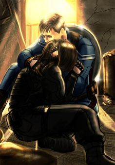 Steve's got you, Bucky. He's got you and he's never letting go. <3