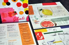 Carluccio's Summer Menu 2011 | Irving & Co