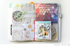 Crop Challenge   Add a Pocket with MorganUsing Roman Holiday in Your Traveler's Notebook with Morgan Stockton