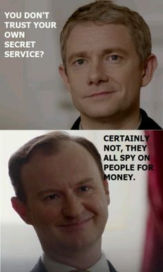 Sounds like a cute nudge at John not taking Mycroft's initial offer to spy on Sherlock. Mycroft trusts John.