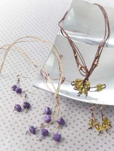 Cords & Bling Jewelry - A little bling goes a long way in creating impressive cord jewelry! Cords and Bling Jewelry shows what…