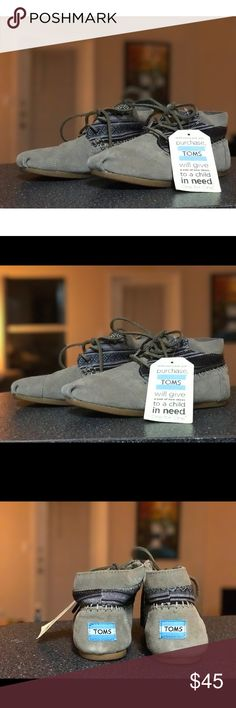 🔥BNWT Toms Tribal Boots These are brand-new never worn toms boots with the tag TOMS Shoes