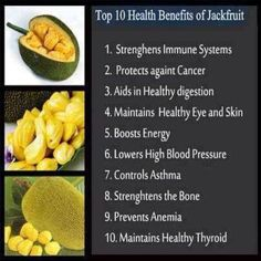 Benefits of Jack fruit [Artocarpus heterophyllus]