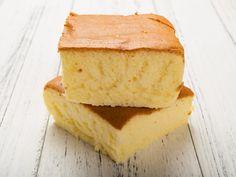 A recipe for 3 Egg Sponge Cake made with butter, milk, eggs, sugar, cream of tartar, salt, flour, baking