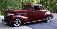 thing purpl, busi coup, car lover, 1939 chevi, chevi coup