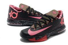 Shoes: kds kevin durant nike pink black deadly in love