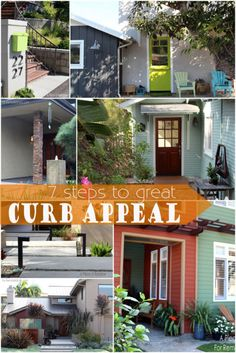 7 tips to add curb appeal to your home. @Remodelaholic.com #spon #curb
