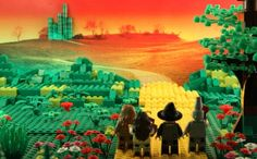 The LEGO version of The Wizard of Oz.