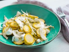 When the summer heat is out of control and amazing produce is flooding the market, sometimes all we want are smart, easy ideas for how to make the most of it without breaking a sweat. Here, we make an incredibly delicious summer squash salad with fennel and dill that is way more than the sum of its parts.
